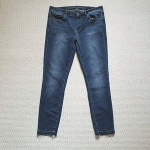 Articles of Society cut off hem skinny jeans Sz 30